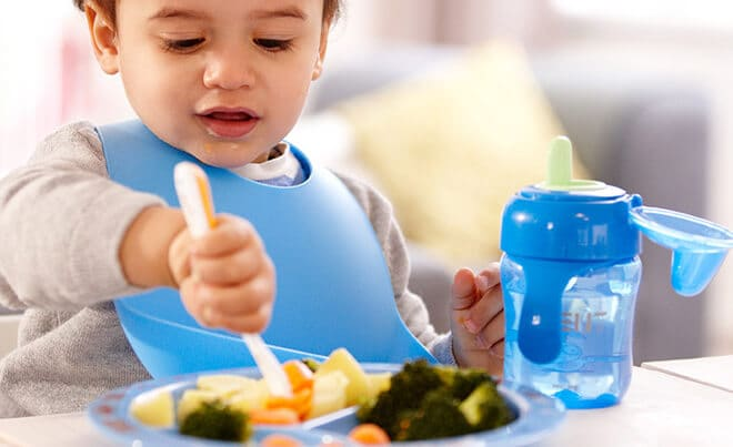 Chunkier food choices for your baby