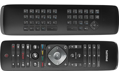 Keyboard Smart Remote TV Philips